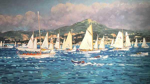 Les voiles St Tropez Michel Margueray
