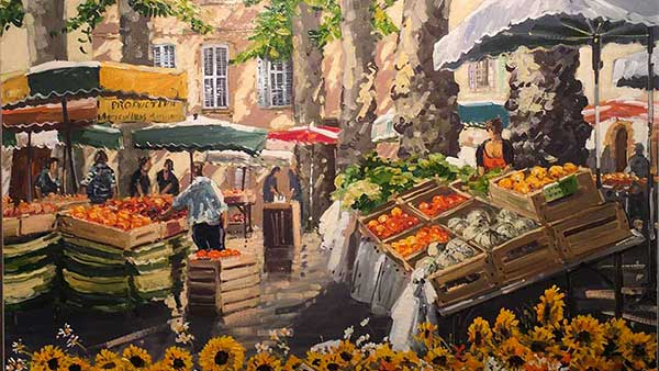 Marché Aix-en-Provence Michel Margueray