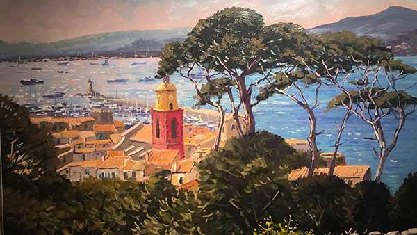 St Tropez Contre-jour Michel Margueray