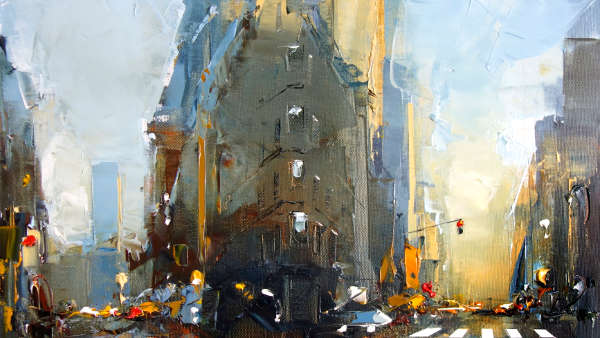 Daniel Castan, Flatiron morning