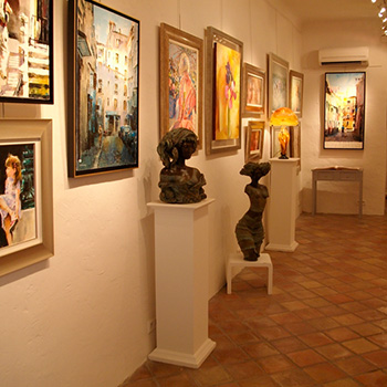 La Galerie Mougins Art Prestige Tableaux et sculptures