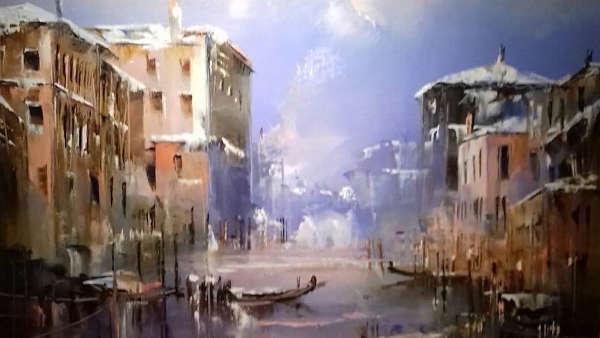 Jean-Michel Cavalli Venise en hiver