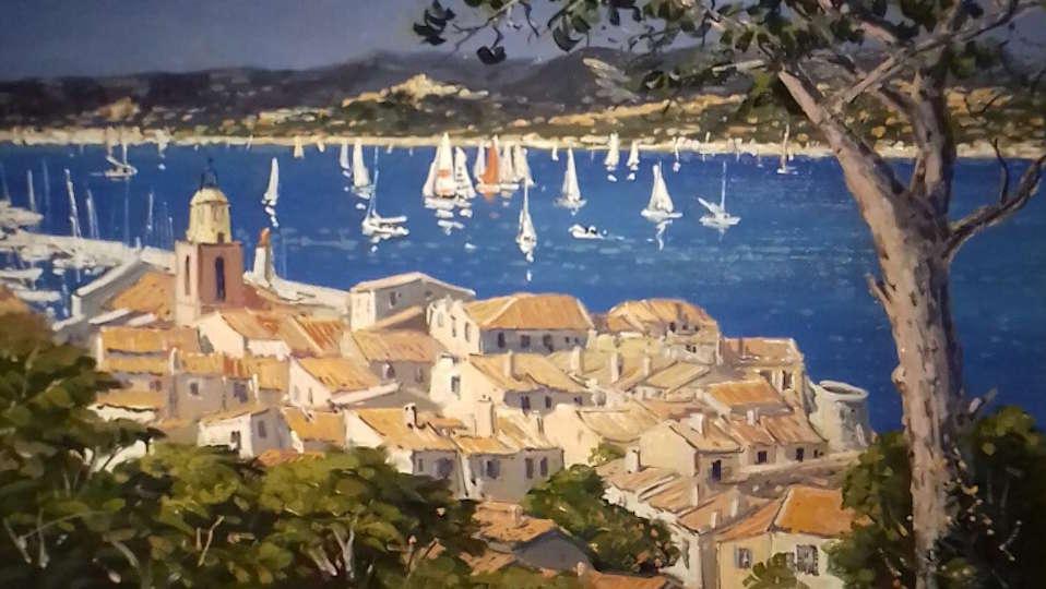 Voiles à Saint-Tropez Michel Margueray