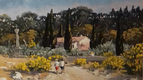 Près d'Eygalières Michel Margueray