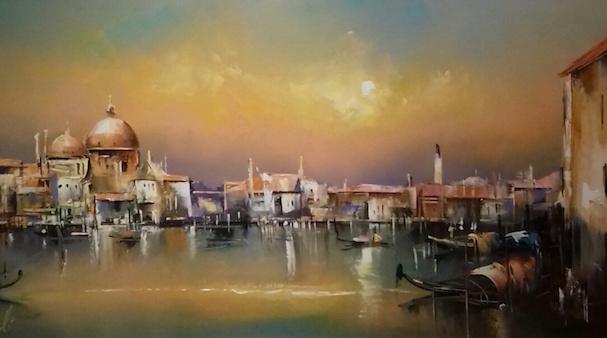 Jean-Michel Cavalli Venise, lumières