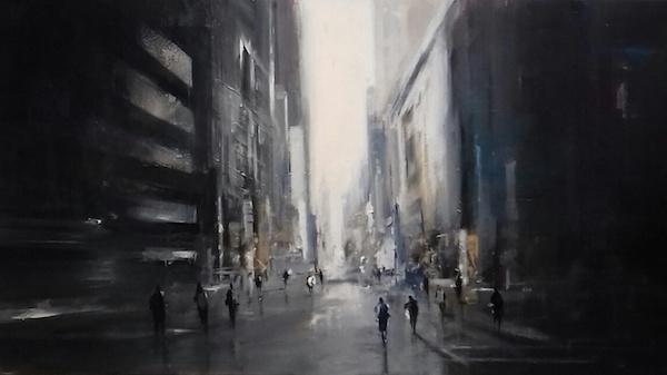 Richard Poumelin, City Blue