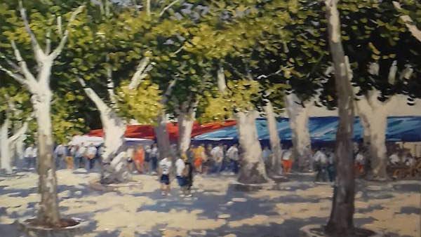 Place des Lices à Saint-Tropez Michel Margueray